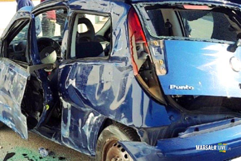 Incidente stradale a Marsala Arianna Maniscalco