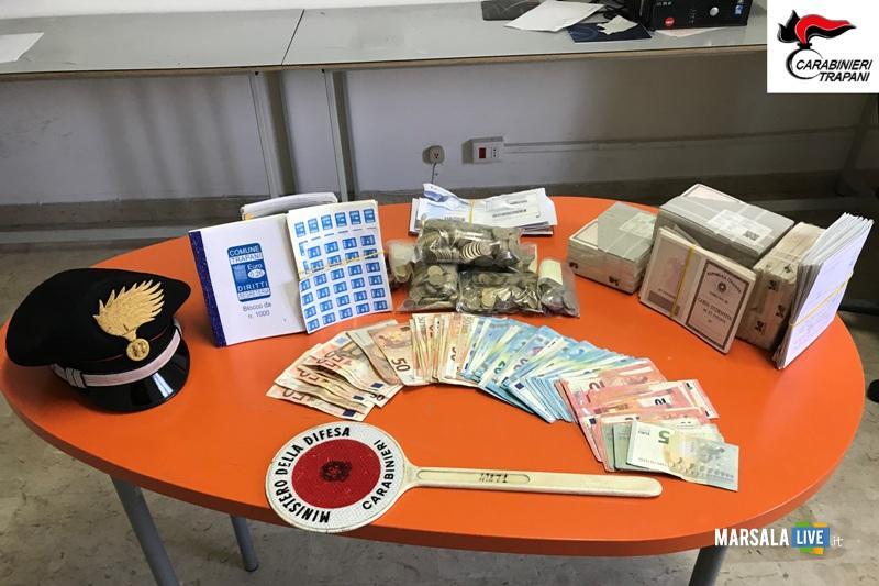 furto cassaforte comune trapani carabinieri