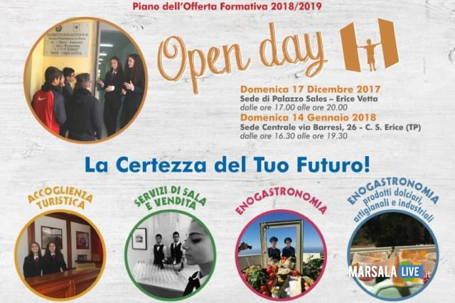 open day alberghiero erice
