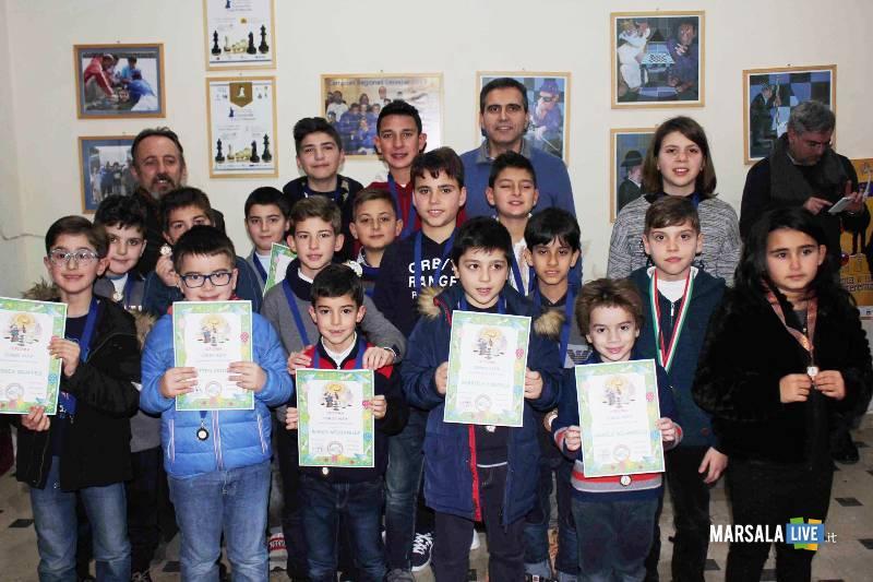 scacchi gruppo dei partecipanti al Torneo capablanca
