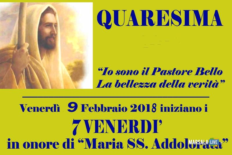 7 Venerdì Maria Santissima Addolorata Marsala 2018
