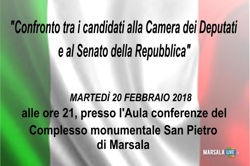 Confronto a marsala tra i candidati alla camera dei for Camera e senato differenze