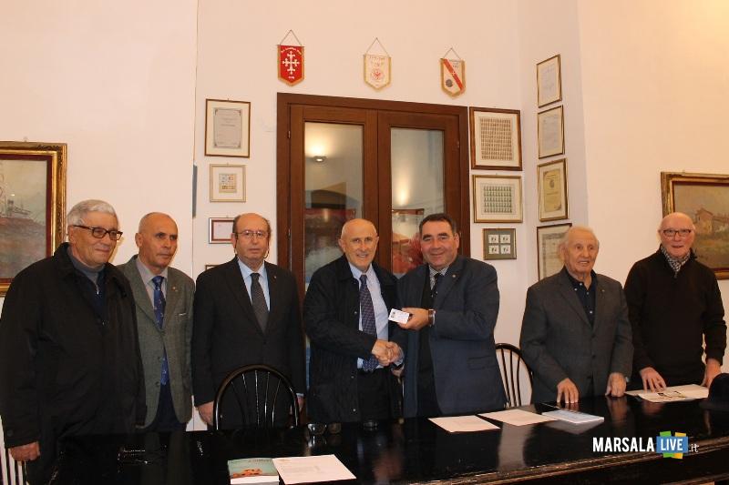 Gaspare Barraco tessera di socio Ancri