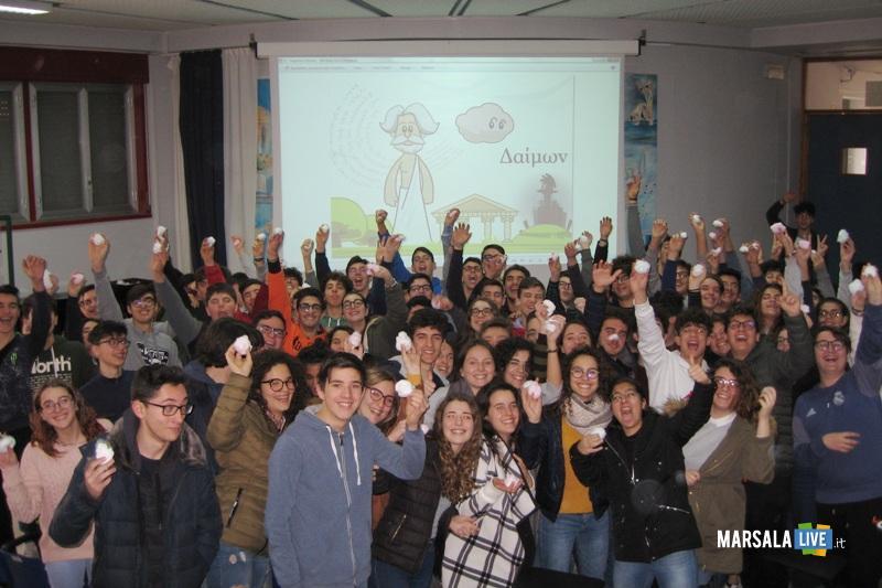 Lab Socrate e la Nuvola Rosa Liceo Ruggieri Marsala 1 Feb 2018 2
