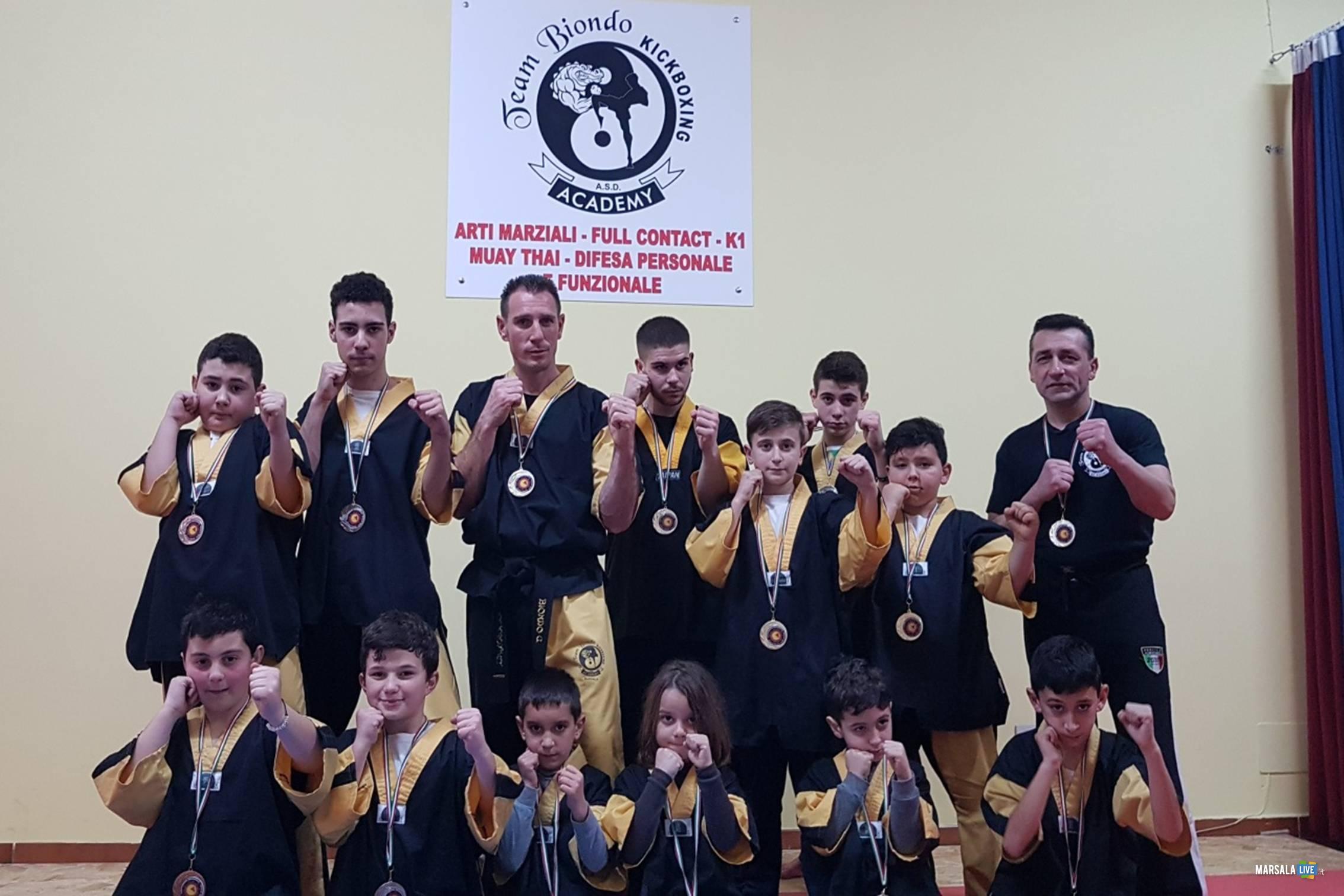 Team Biondo Kickboxing di Marsala