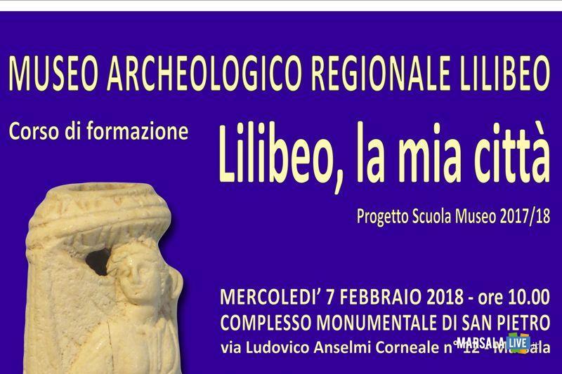 locandina progetto scuola museo marsala lilibeo