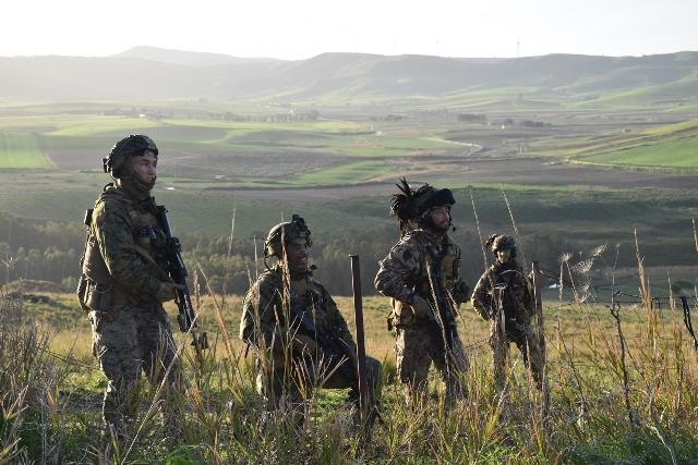 Addestramento congiunto tra Esercito italiano e US Marines Corps (2)
