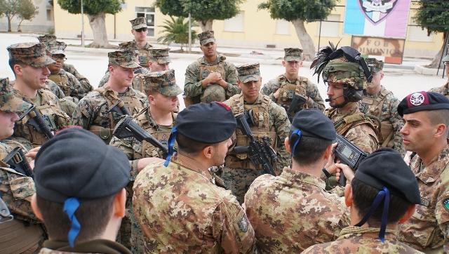 Addestramento congiunto tra Esercito italiano e US Marines Corps (3)