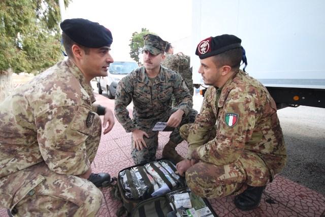Addestramento congiunto tra Esercito italiano e US Marines Corps (5)
