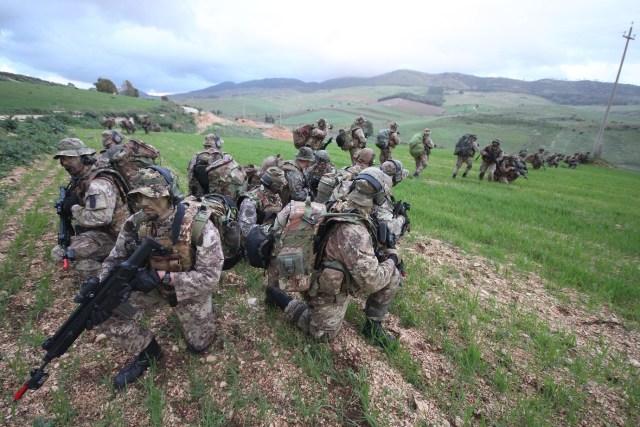 Addestramento congiunto tra Esercito italiano e US Marines Corps (7)