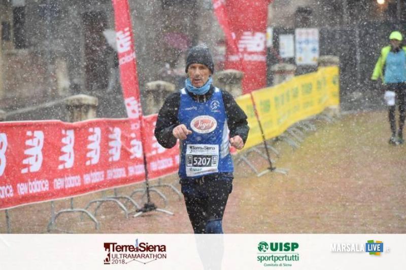 Atl. - Agostino Impiccichè all'Ultramaratona Terre di Siena 2