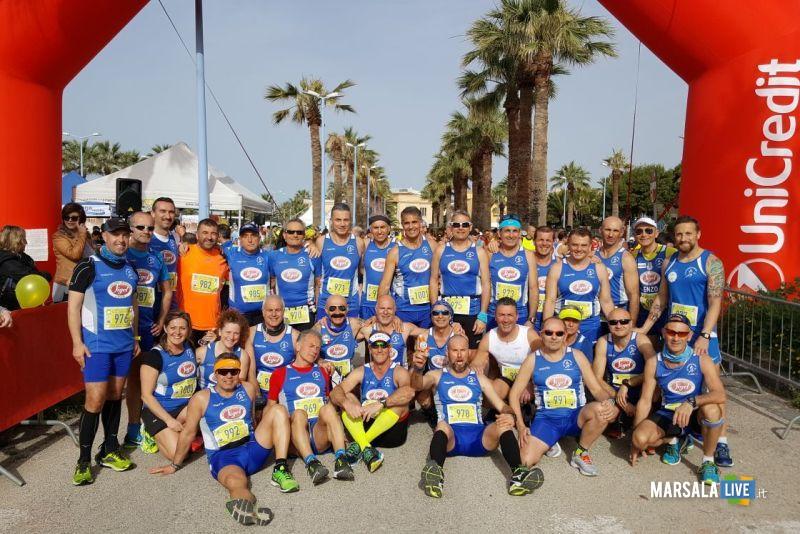 Atl. - Atleti della Polisportiva Marsala Doc alla mezzamaratona di Agrigento
