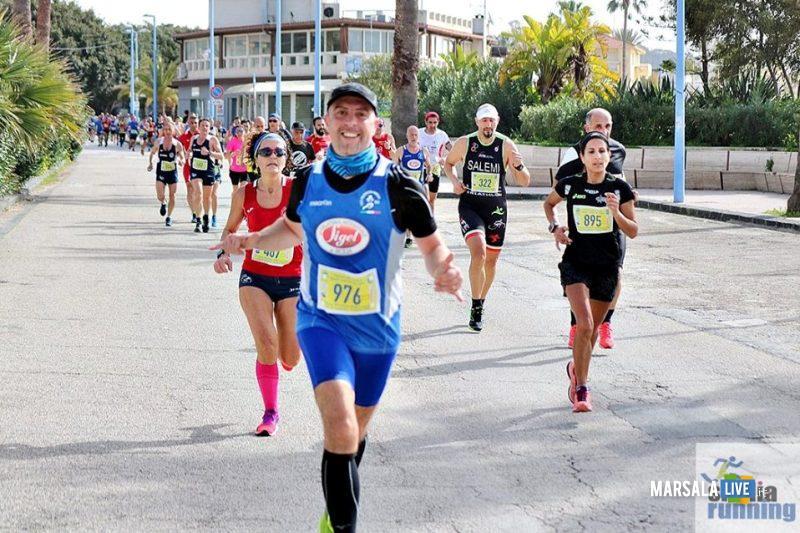 Atl. - Peppe Cerame alla mezzamaratona di Agrigento
