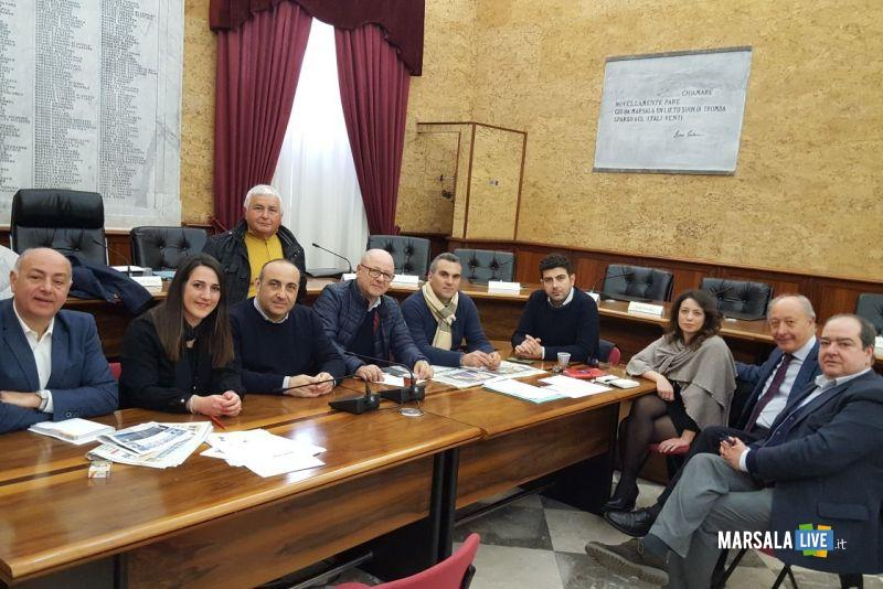 Consiglio comunale Marsala x Aeroporto Birgi