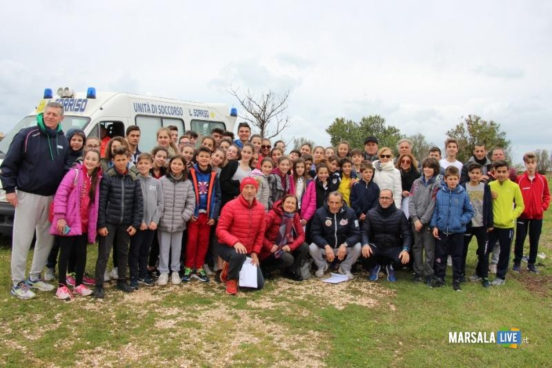 Corsa Campestre campionati studenteschi marsala.