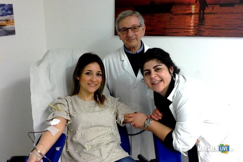 Dorotea Salerno - prima donazione Avis