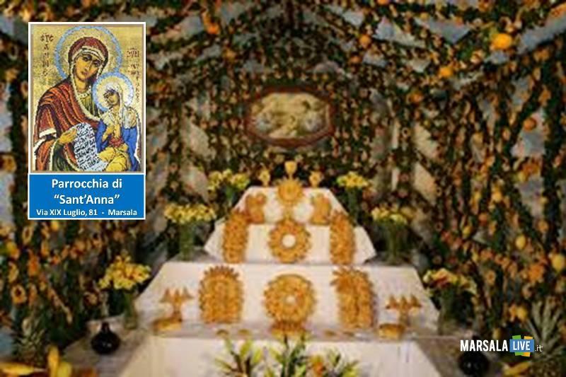 Festività di San Giuseppe a Marsala parrocchia sant_anna