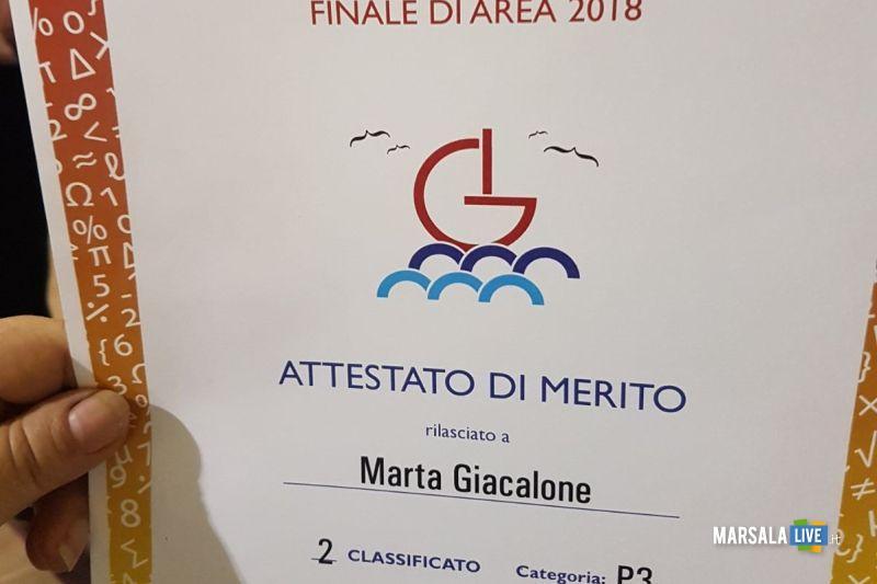 Giochi Matematici del Mediteranno Marta Giacalone (3)