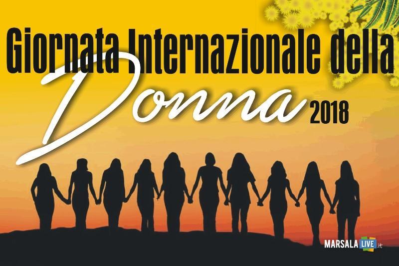Giornata Internazionale della Donna a Marsala 2018