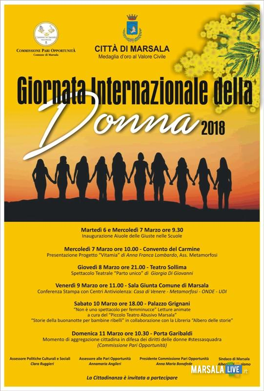 Giornata Internazionale della Donna a Marsala