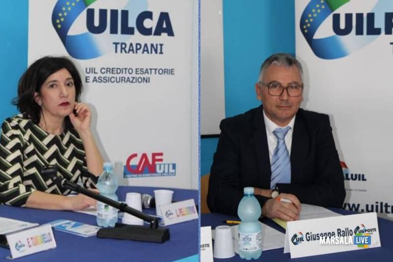 Giuseppe Rallo e Laura Pellegrino