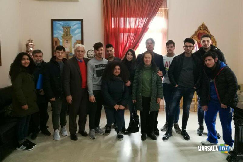 alternanza scuola lavoro alunni Geometra Campobello al Comune 27.03.2018