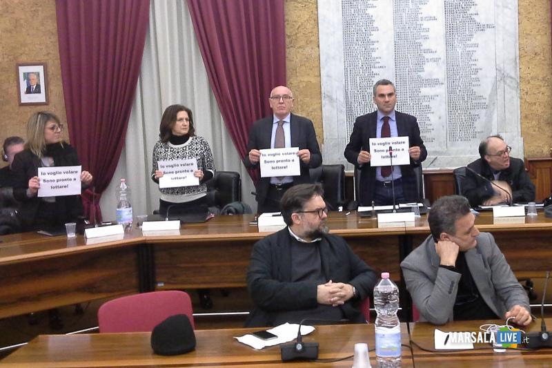 consiglio comunale birgi ryanair Marsala