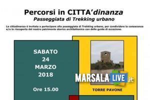locandina trekking urbano 24.03.2018-