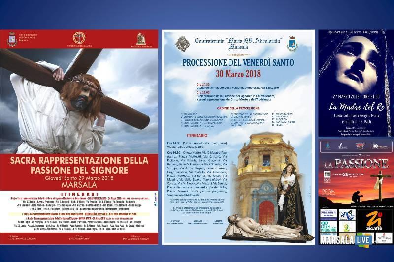 settimana santa a Marsala - Pasqua 2018