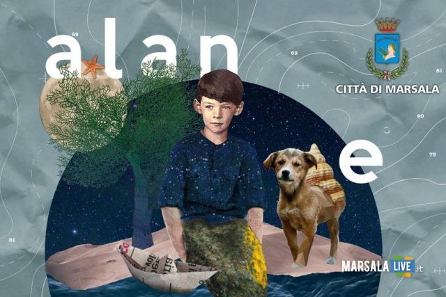 Alan e il mare a Marsala 2018