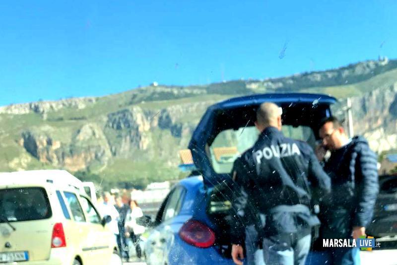 Allarme bomba alla motorizzazione civile di Trapani (2)
