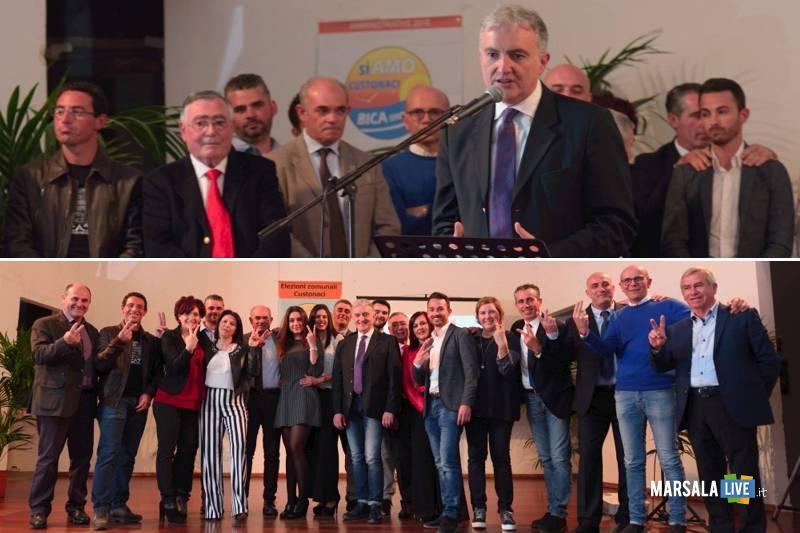 Apertura della campagna elettorale di Giuseppe Bica