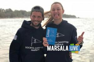 Enrico Tortorici e Giulia Schio Canottieri Marsala