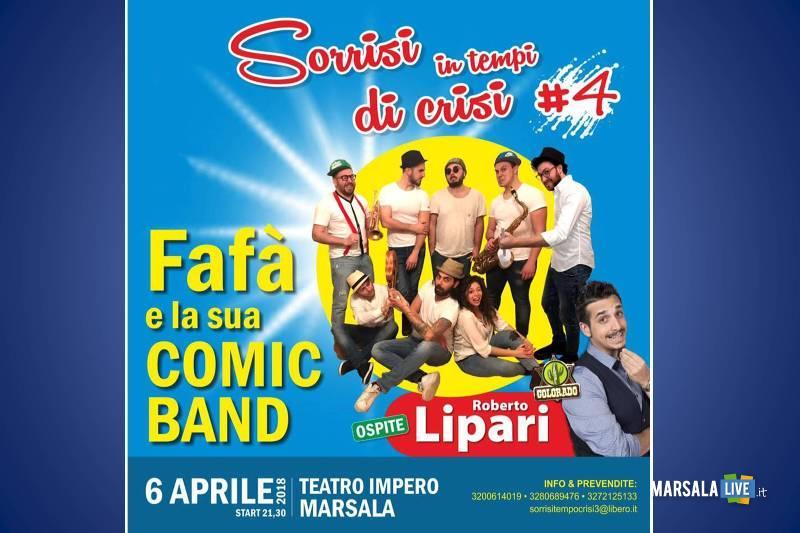 Fafà e la sua Comic Band in tempo di Crisi marsala