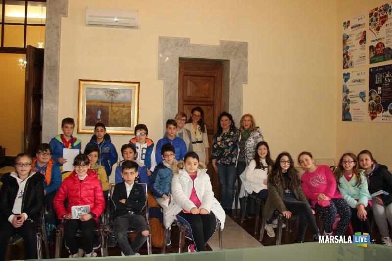 Garibaldi-Pipitone in visita al Palazzo Municipale e Palazzo VII Aprile