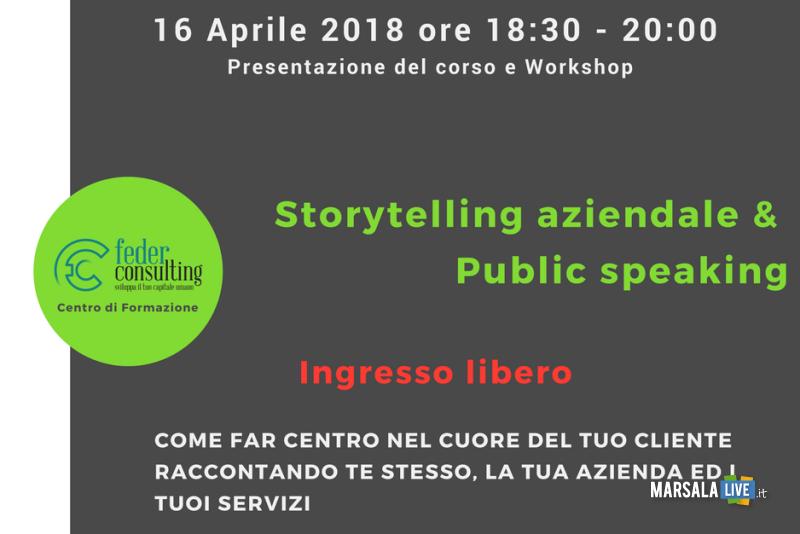 Public Speaking e Storytelling aziendale