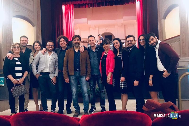 Sergio Vespertino a Marsala teatro sollima