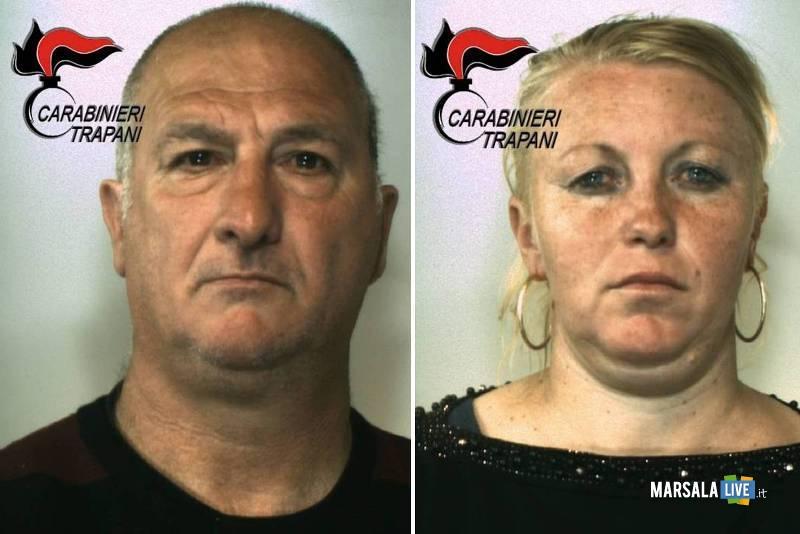 Vito Calagna e Maria Zaharia