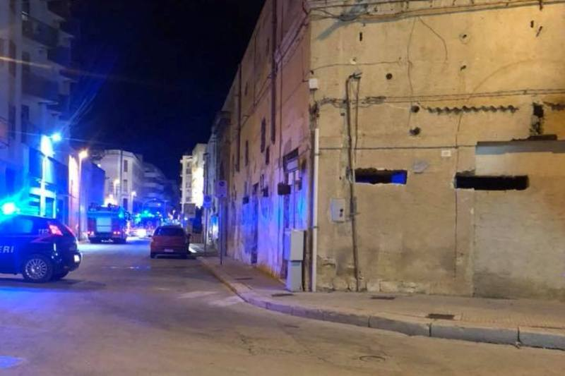 casa riposo marsala Giovanni XXIII Incendio 2018