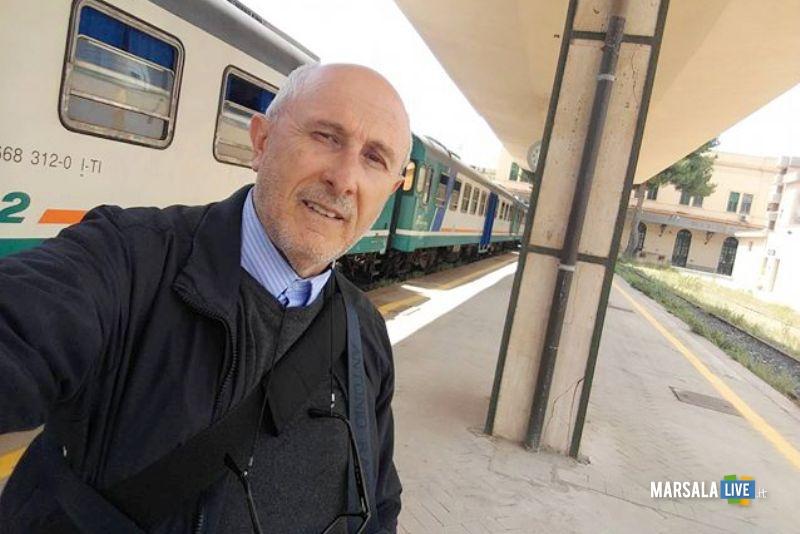gaspare barraco stazione ferroviaria Trapani treni