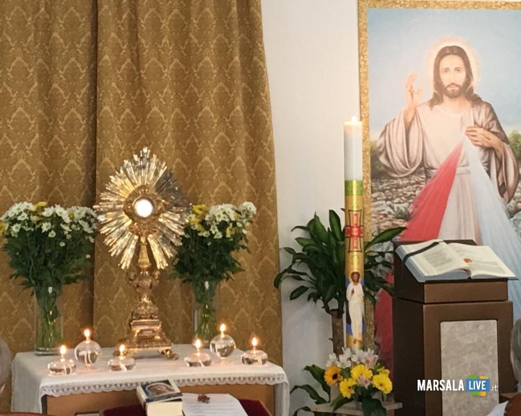 gesù misericordioso cappella ospedale mazara.