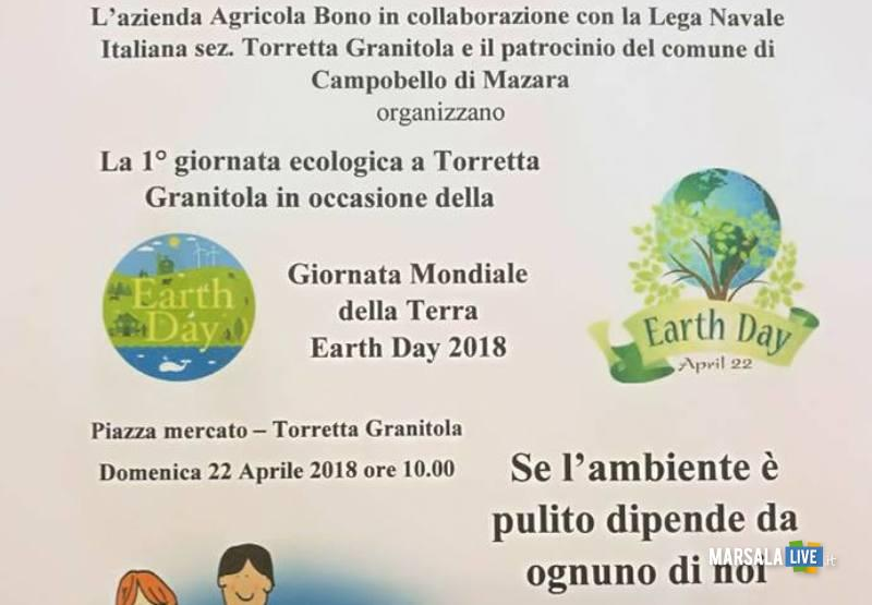 locandina Giornata Ecologica a Torretta Granitola