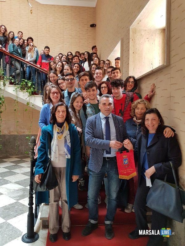 studenti liceo scientifico Pietro Ruggieri in visita a Marsala (2)