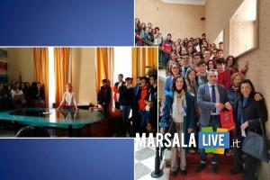 studenti liceo scientifico Pietro Ruggieri in visita a Marsala