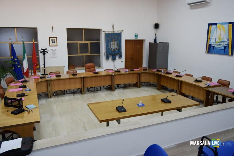 Aula consiliare consiglio comunale Petrosino