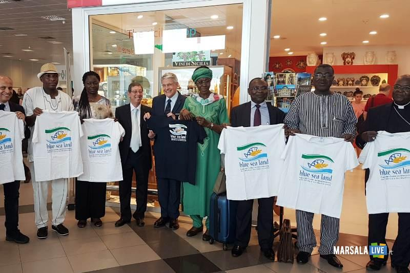 Blue Sea Land_ Incontro con delegazione del Burkina Faso
