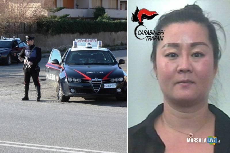 Chen Biying marsala carabinieri