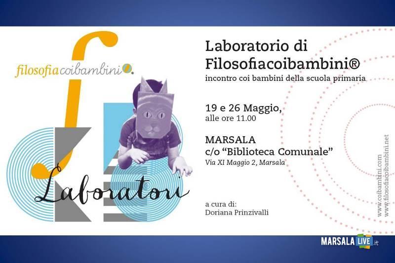 Filosofia coi bambini laboratori nella biblioteca di Marsala