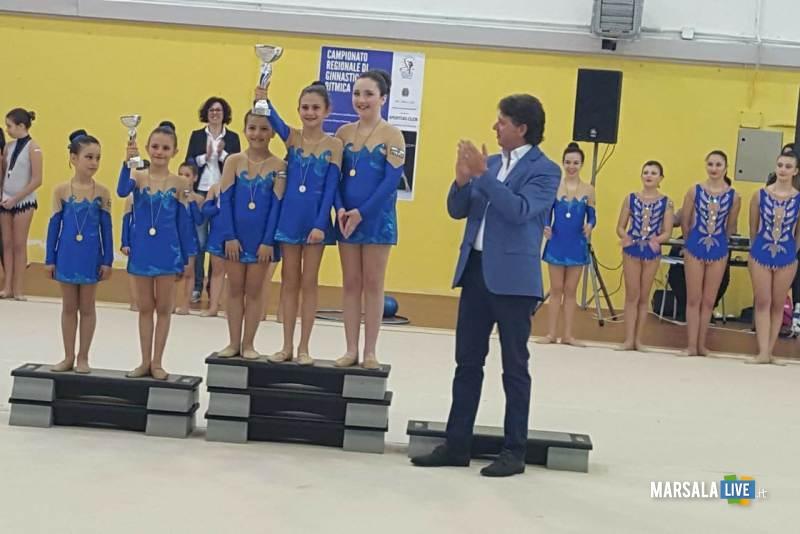 GiuseppeCastiglione premiazione gara ginnastica ritmica 6.05.2018