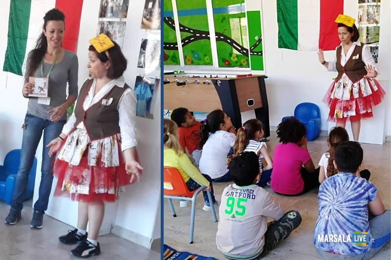Lettura espressiva con Virgoletta per i bambini di Marhaba Onlus